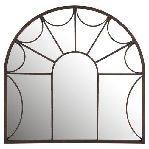 Uma enterprises mirrored wall decor reviews wayfair for Fenetre decorative