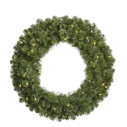 72 Lighted Artificial Grand Teton Christmas Wreath by Vickerman