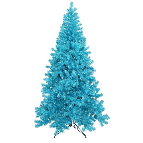 vickerman 8 39 blue artificial christmas tree with 600 teal. Black Bedroom Furniture Sets. Home Design Ideas
