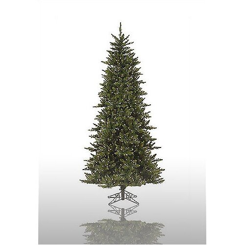 Vickerman Co. Camdon Fir 8.5 Green Slim Fir Artificial Christmas Tree