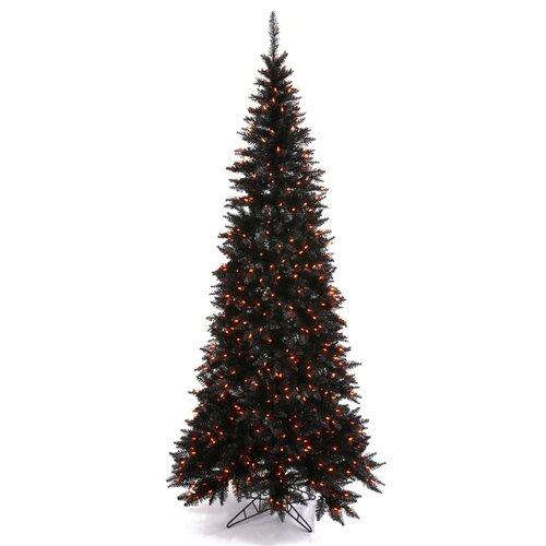 Mini Black Christmas Tree