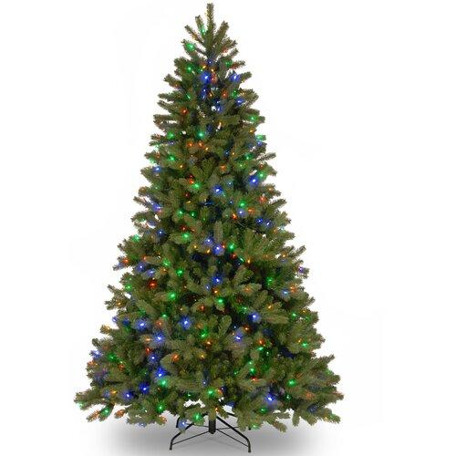 "Douglas Fir Artificial Christmas Trees: National Tree Co. Downswept Douglas 7.5"" Green Fir"