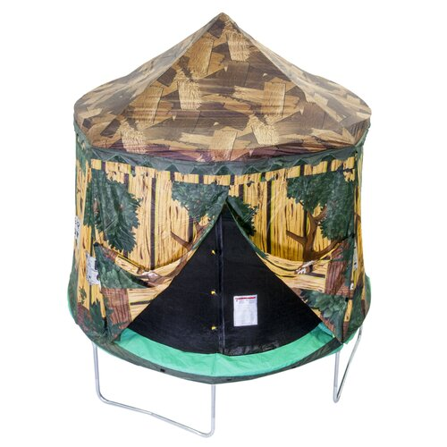 10' Enclosure Tree House Trampoline Cover