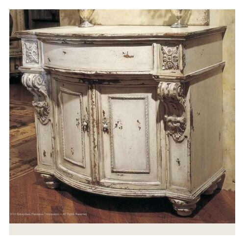 Classic habersham stafford commode cabinet wayfair for Habersham cabinets cost