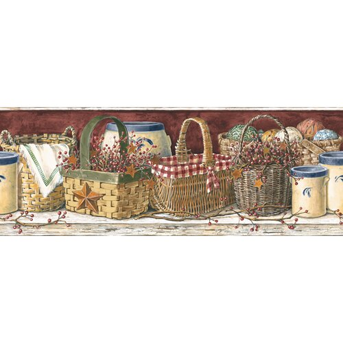 """Mural Portfolio II Country Kitchen 15' X 9"""" Food And"""