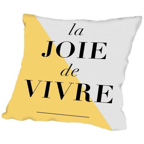 La Joie De Vivre Throw Pillow by Americanflat