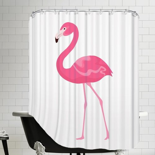 Americanflat Flamingo Shower Curtain Amp Reviews