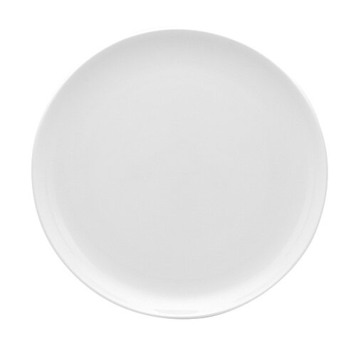 """Red Vanilla Pure Vanilla 10.75"""" Coupe Dinner Plate (Set of 4)"""