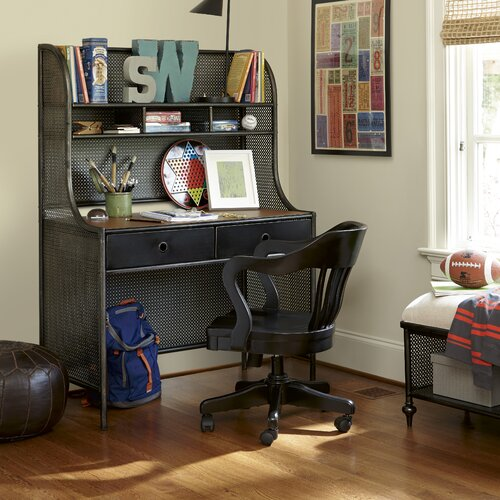 kidkraft pinboard desk with hutch & chair 27150 2