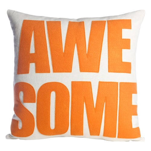 Alexandra Ferguson Awesome Polyester Throw Pillow