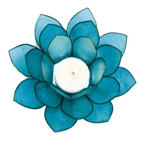 Dekorasyon Gifts & Decor Capiz Lotus Candleholder (Set of 2)