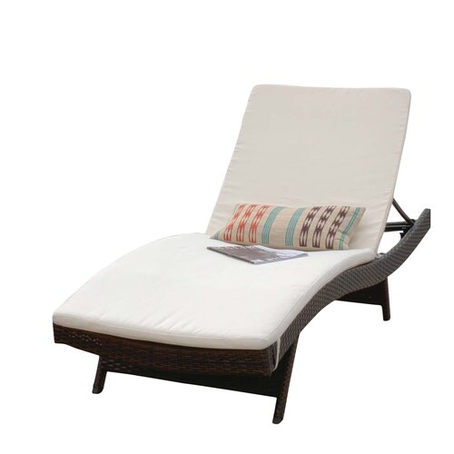 Home loft concepts outdoor sunbrella chaise lounge cushion for Chaise cushions clearance