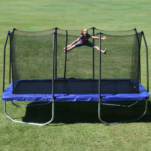 Skywalker 15 Trampoline With Safety Enclosure Reviews: Skywalker 15' Trampoline With Safety Enclosure II