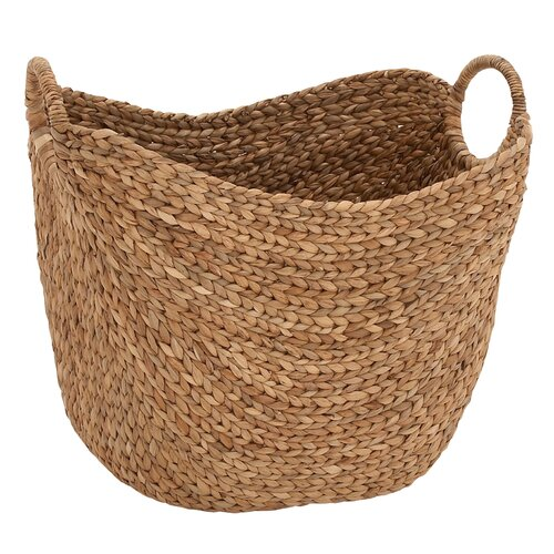 Attractive Sea Grass Basket by Woodland Imports