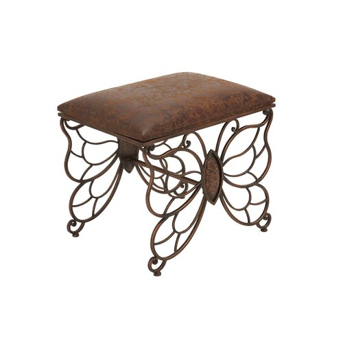 Woodland Imports Metal Stool Amp Reviews Wayfair