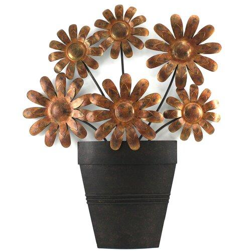 Fetco Home Decor Inez Flower Pot & Reviews