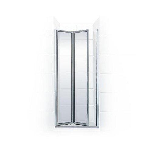 Double Hinged Shower Door : Coastal industries paragon double hinge bifold shower door