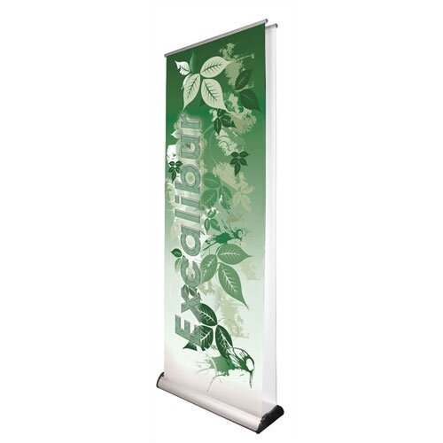Exhibitor's Hand Book Double Sided Premium Excalibur Banner Stand
