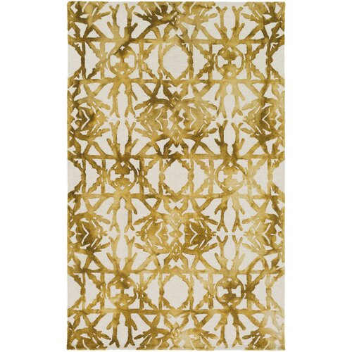 Chloe Rug From Organic By Artistic Weavers: Organic Avery Hand Tufted Gold/Off-White Area Rug