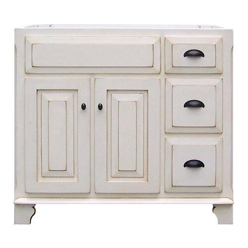 Victorian 36 vanity base wayfair for Sagehill designs bathroom vanity