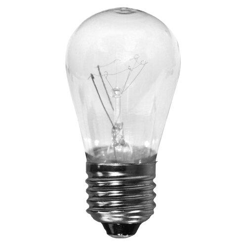 lighting bulbs shades american lighting llc part b11s14 cl. Black Bedroom Furniture Sets. Home Design Ideas