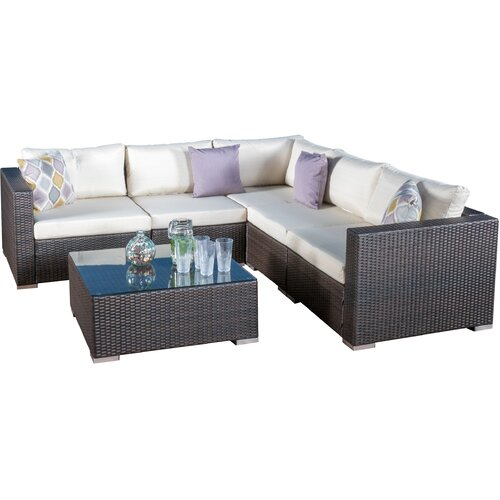 Home Loft Concept Venice 6 Piece Seating Group With
