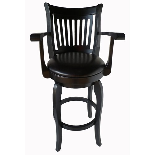 Ross 30quot Leather Swivel Bar Stool with Arms Wayfair : Ross 30 Leather Swivel Bar Stool with Arms W9186929 from www.wayfair.com size 500 x 500 jpeg 28kB