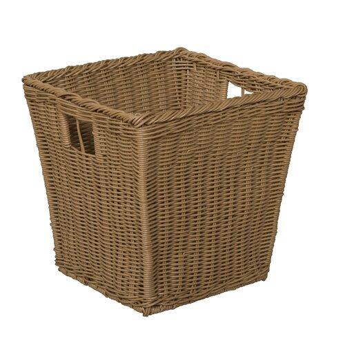 Wood Designs Wicker Basket in Brown