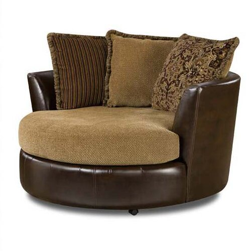 Comfort Pointe Elizabeth Swivel Barrel Chair Amp Reviews