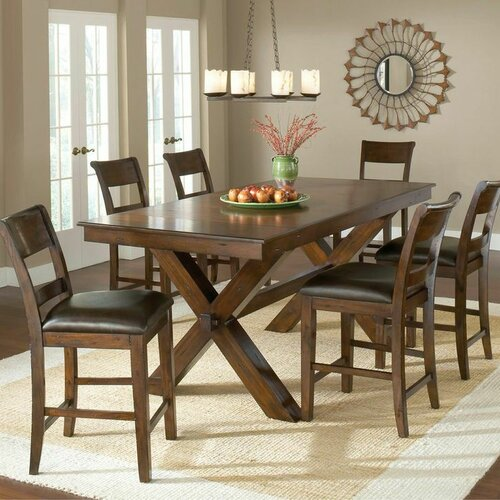 Counter Dining Room Sets: Hillsdale Park Avenue 7 Piece Counter Height Dining Set