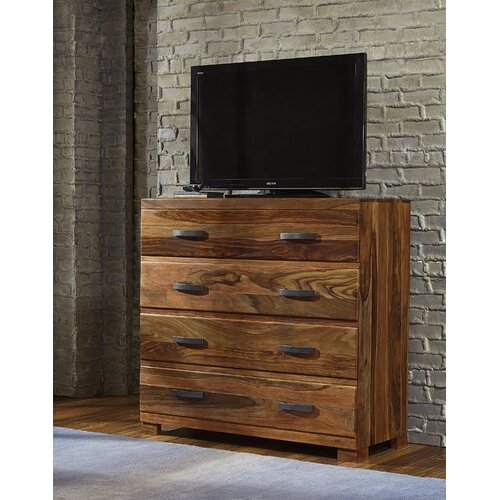 Madera 4 Drawer Media Chest by Hillsdale