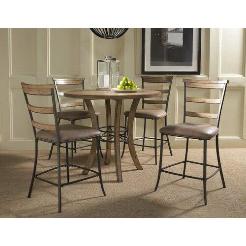 Hillsdale Furniture Bennington 5pc Dining Room Set In: Hillsdale Charleston 5 Piece Counter Height Dining Set