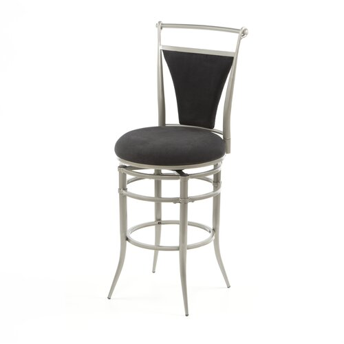Hillsdale Cierra 26 Quot Swivel Bar Stool With Cushion