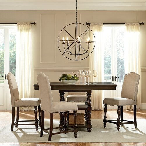Dining Room Accent Pieces: American Heritage 5 Piece Dining Set