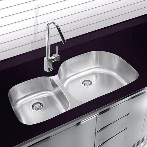 Double Bowl Stainless Steel Sink : ... 37.625
