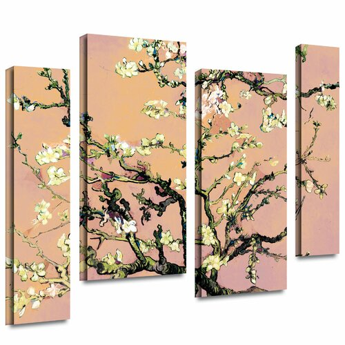 tile floor and decor eggshell almond blossom by vincent gogh 4 22296