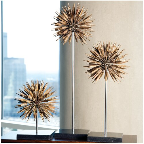 Global Views Dandelion Decorative Accent Sculpture