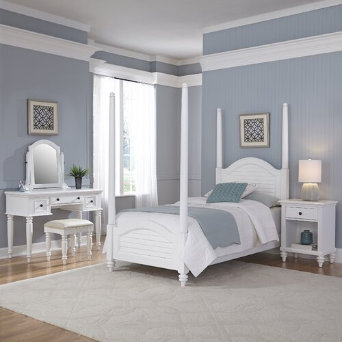 Bermuda 4 Poster 5 Piece Bedroom Set