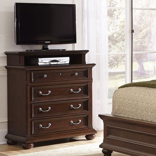Colonial Classic 4 Drawer Media Chest by Home Styles