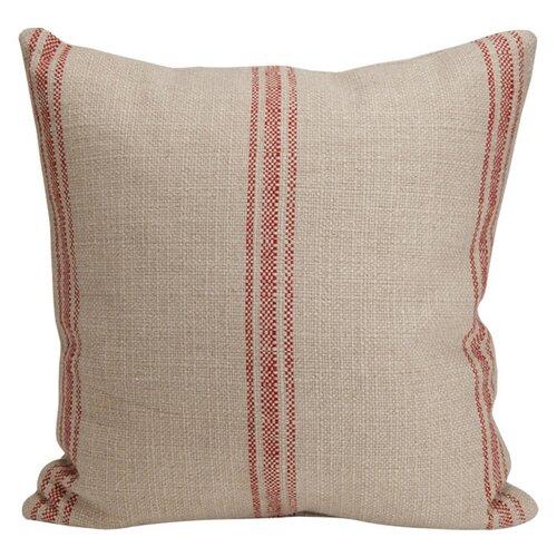 Artisan Classic Stripe Linen Throw Pillow Wayfair