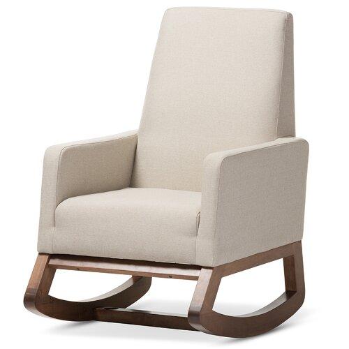 Wholesale Interiors Baxton Studio Rocking Chair Amp Reviews
