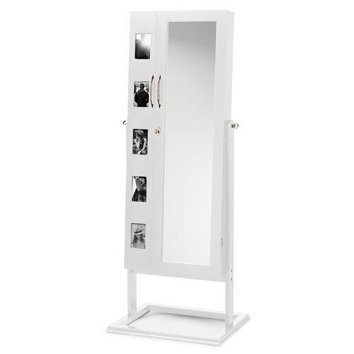Baxton Studio Darin Wood Floor Standing Double Door