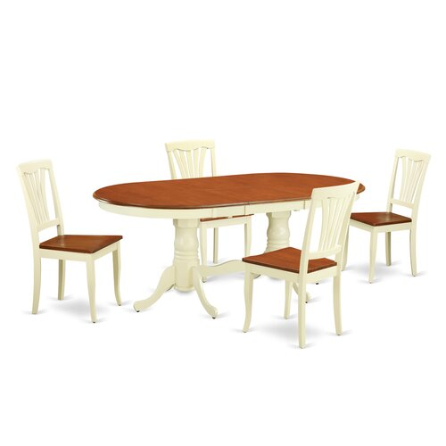 Wooden Importers 3 Piece Dining Set Reviews: Wooden Importers Plainville 5 Piece Dining Set & Reviews