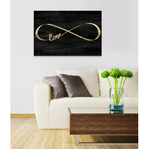 www wayfair furniture oliver gal sparkle textual on wrapped canvas 13882