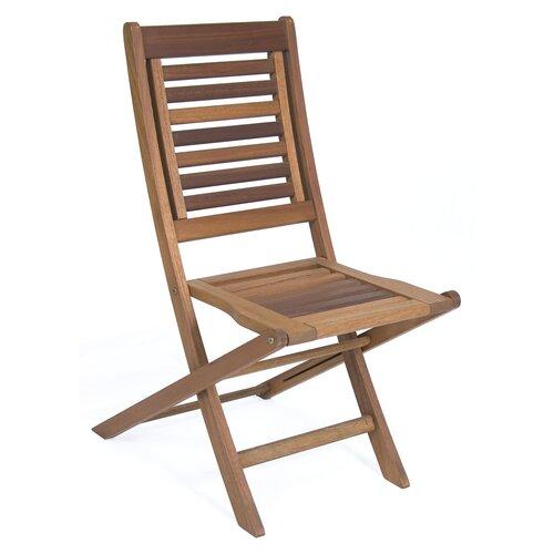 Amazonia Folding Dining Side Chair Wayfair