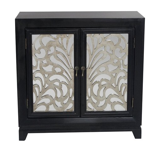 Heather ann 2 door accent cabinet reviews wayfair for One day doors and closets reviews