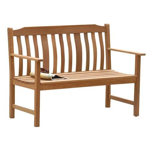 SunTime Outdoor Living Highland Nyatta Wood Garden Bench ... on Suntime Outdoor Living id=15301