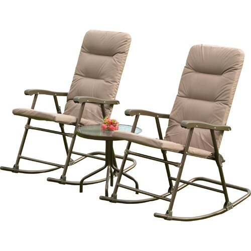 SunTime Outdoor Living Hereford 3 Piece Rocker Seating ... on Suntime Outdoor Living id=76736