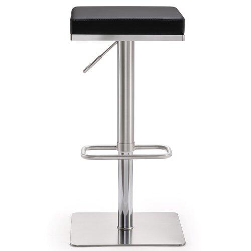 TOV Bari Adjustable Height Swivel Bar Stool with Cushion  : Bari Adjustable Height Swivel Bar Stool with Cushion TOV K362 from www.wayfair.com size 500 x 500 jpeg 11kB