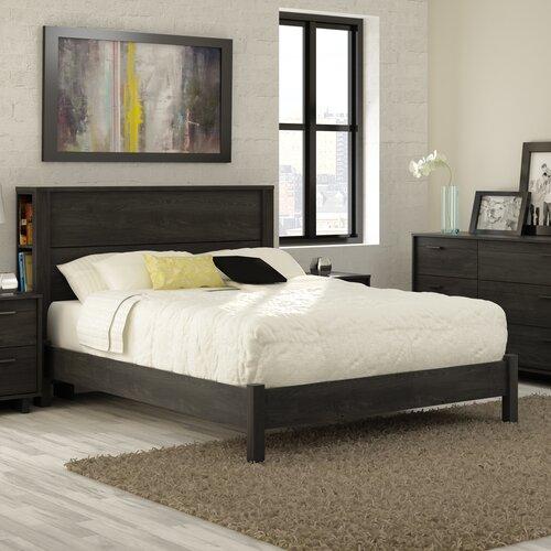 fynn full size storage platform bed wayfair. Black Bedroom Furniture Sets. Home Design Ideas